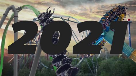 NEW For Six Flags 2021 Predictions - YouTube