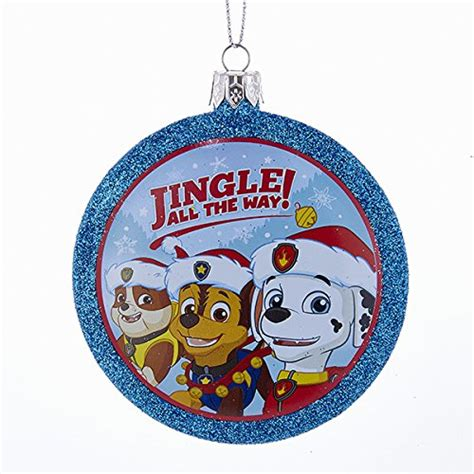 kids love  paw patrol christmas ornaments unique