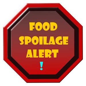 id馥s cuisines food spoilage alert android apps on play