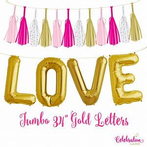 sale 34 a z letters gold mylar letter balloons With mylar letters