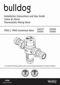 Installation Instructions And User Guide 15mm