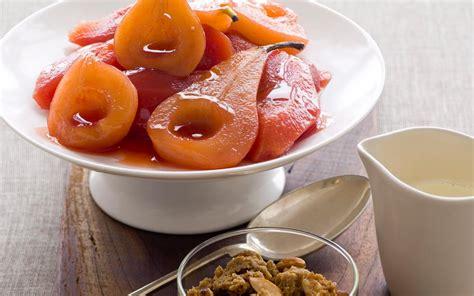 poires rôties et sucrées aux coings les recettes