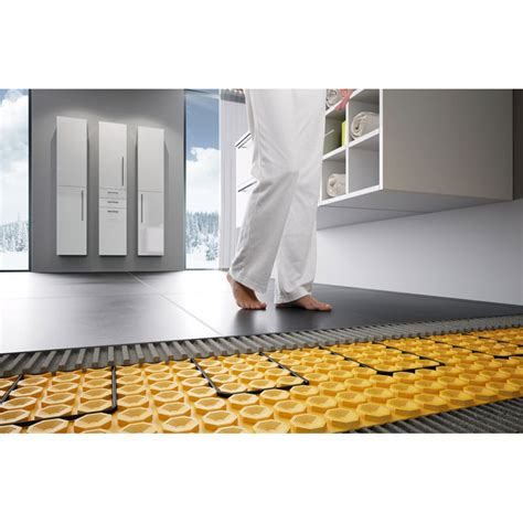 Ditra Tile Underlayment Thickness by Ditra Heat E Matting 12 5lm Buy Schluter Underfloor
