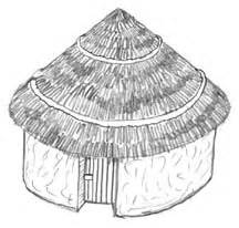 African Huts Clipart (8+)