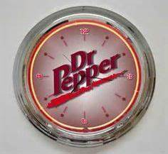 VINTAGE DR PEPPER CLOCK $250