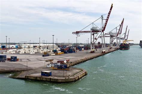 dunkirk april 17 2014 port of dunkirk grand port maritime de dunkerque is the 3rd