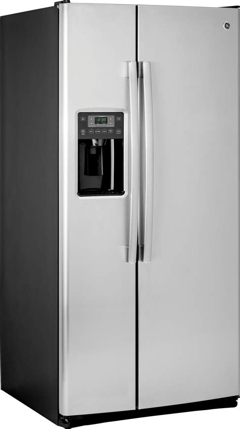 "GSS23GSKSS   GE 33"" 23.2 cu. ft. Side by Side Refrigerator"