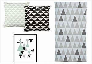 Tapis Vert Menthe : la d co motif triangle a toujours la cote joli place ~ Melissatoandfro.com Idées de Décoration