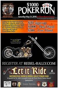 Cancer Fundraiser Flyer Template Motorcycle Poker Run Flyer Template Motorcyle Poker
