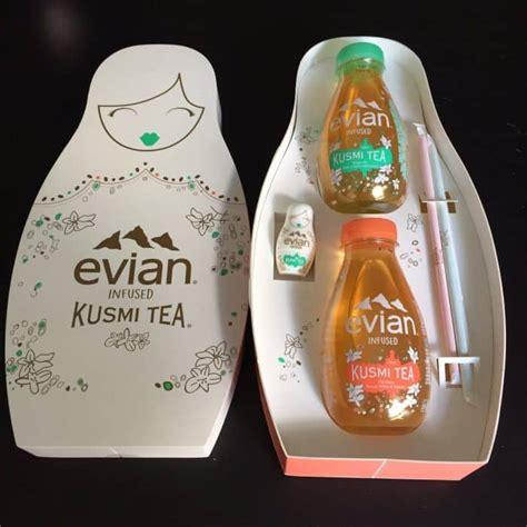 siege social evian evian et kusmi tea proposent une nouvelle boisson food
