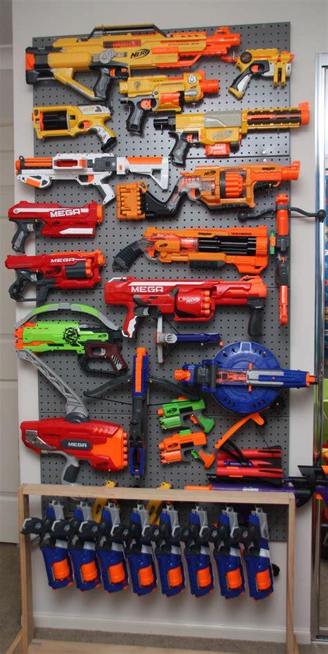 99 cent nerf gun cabinet: Pin on organize
