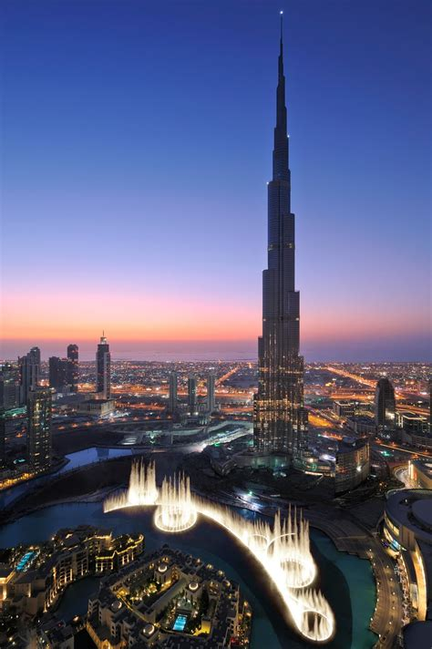 Burj Khalifa The Tallest Man Made Structure In The World