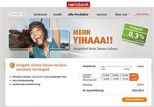 Erwartete Rendite Berechnen : norisbank festgeld im test jetzt erfahrungen lesen ~ Themetempest.com Abrechnung