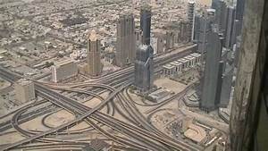 At the top burj khalifa viewing point on 124th floor for Burj al khalifa how many floors
