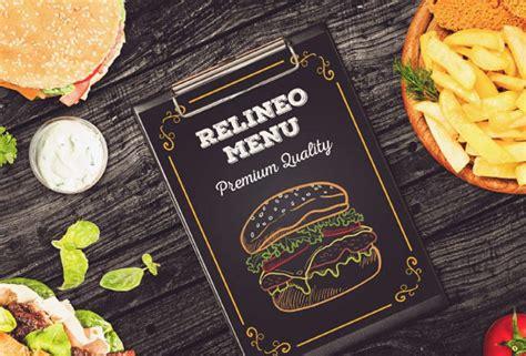 restaurant menu templates psd mockups web