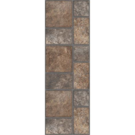 vinyl flooring 12 x 36 trafficmaster allure 12 in x 36 in yukon brown luxury vinyl tile flooring 24 sq ft case
