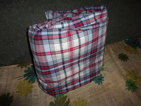 Madras Duvet by Ralph Cape May Duvet Madras Plaid Blue 100