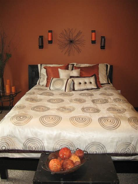 Burnt Orange Bedroom by Best 10 Burnt Orange Bedroom Ideas On Burnt
