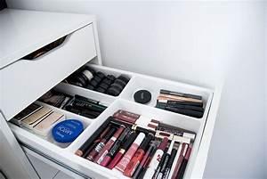 Meuble Maquillage Ikea : mon rangement makeup domino effect ~ Teatrodelosmanantiales.com Idées de Décoration