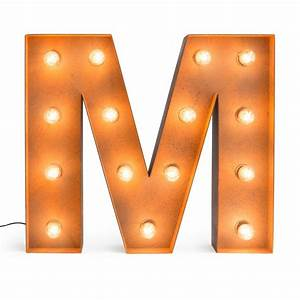 Letter m with light bulb reallynicethings for Letter m with light bulbs