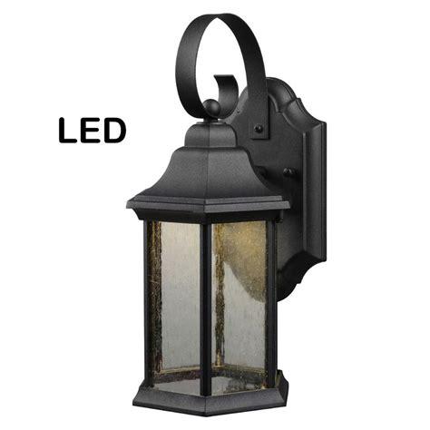 Black Porch Light by Black Outdoor Led Patio Porch Exterior Light Fixture