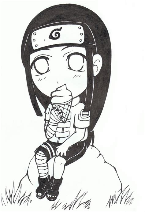 Another Neji Chibi by Kiwiggle on DeviantArt