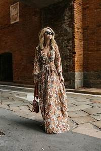 Robe Longue Style Boheme : robes longues boheme chic 2017 ~ Dallasstarsshop.com Idées de Décoration