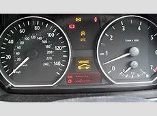 BMW warning lights YouTube