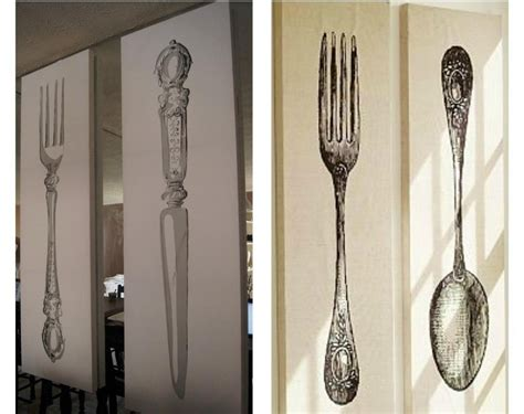 Fork and spoon wall decoration and related products have become an unmissable aspect of a comfortable lifestyle, remaining true to one's personality. 15 Best Ideas of Big Spoon And Fork Wall Decor