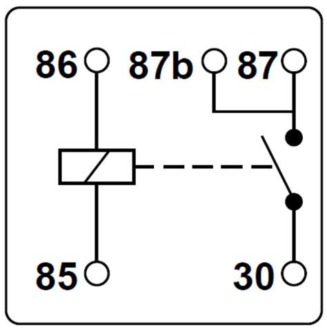 5 wire relay schematic wiring diagram