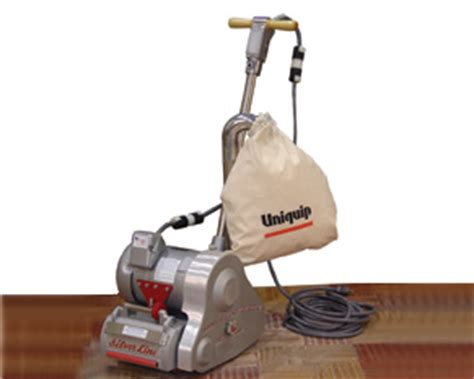 drum floor sander for deck location bouladier