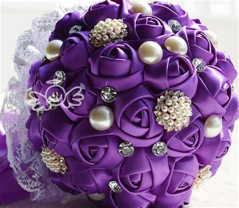 cheap purple wedding flower