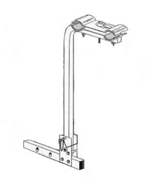 mast style hitch rack    yakima racks