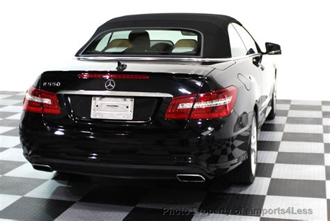 Search over 12,700 listings to find the best local deals. 2013 Used Mercedes-Benz CERTIFIED E550 V8 AMG SPORT CONVERTIBLE P2 NAVI at eimports4Less Serving ...