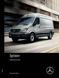 2017 Mercedes Benz Sprinter Owner U0026 39 S Operator Manual User Guide