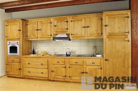 meuble de cuisine but meuble bas 1 porte pin massif pour cuisine avoriaz le