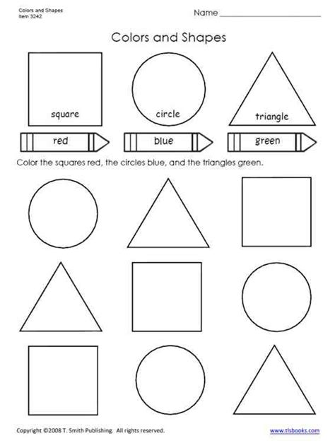 Shape Worksheets First Grade Worksheets For All  Download And Share Worksheets  Free On