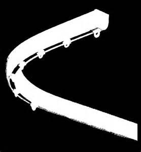 Rail De Rideau Courbe by Tringles Rails Pour Rideaux Tentures Stores