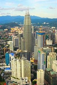 Aerial view of Kuala Lumpur ~ Architecture Photos on ...