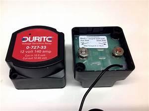 12v 140amp Durite Voltage Sensitive Relay 0