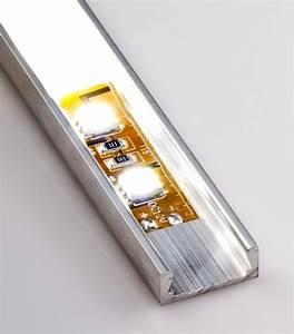 Led Strip Profil : low profile surface mount led profile housing for led strip lights micro alu series led ~ Buech-reservation.com Haus und Dekorationen