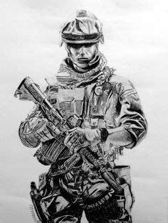 Army Soldier Drawing   c r e a t i v e a r t in 2019   Military drawings, Soldier drawing, Army