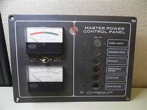 Marinetics 615 Marine Circuit Breaker Dc Panel W