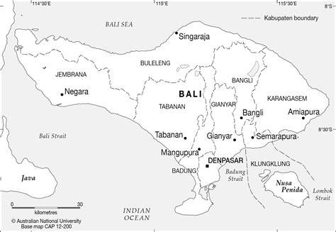 bali base cartogis services maps  anu