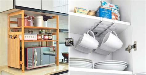 accessoires pour cuisine accessoires gain de place pour une cuisine 20 idées