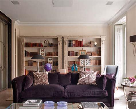 purple sofas living rooms purple living room decorating ideas interior home design
