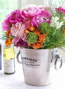 Flower, Arrangement, Ideas, Creating, Pretty, Vignettes, With, Pink, Flowers
