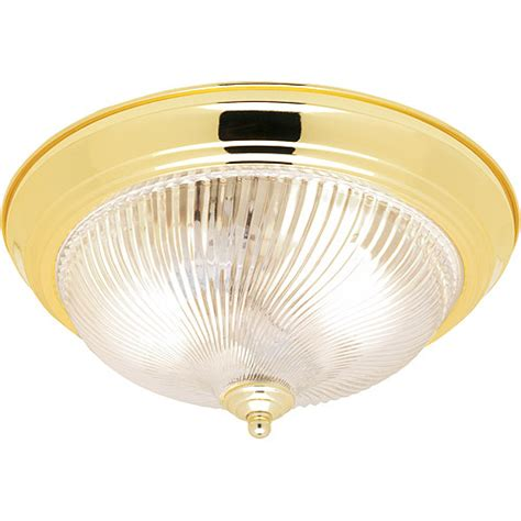 hton 13 quot flushmount indoor lighting polished