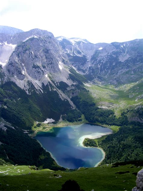 Beautiful Eastern Europe Trnovacko Lake Bosnia And