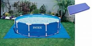 Tapis Sous Piscine : tapis de sol intex pour piscine hors sol ~ Melissatoandfro.com Idées de Décoration